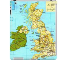 UNITED KINGDOM (MAP) iPad Case/Skin