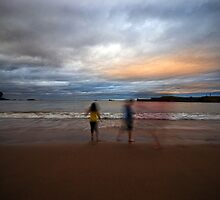 Wave Runners by Nigel Bangert