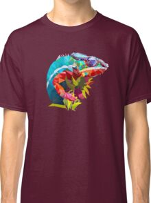 Low Poly Chameleon Classic T-Shirt