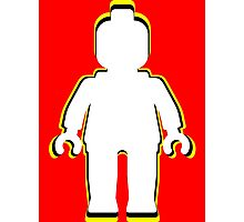 MINIFIG MAN  Photographic Print