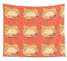Viva Mexico design Wall Tapestry