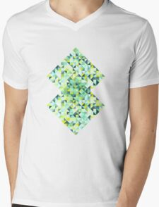 Colorful Triangles III Mens V-Neck T-Shirt
