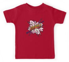 Comic Book GIRL! Kids Tee