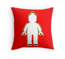 MINIFIG MAN  Throw Pillow