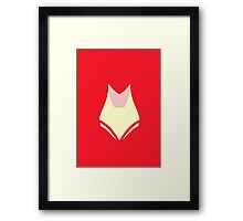 Red Creed Framed Print