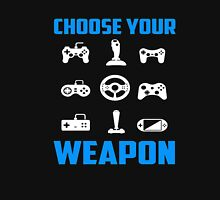 Choose Your Weapon Tshirt Gaming Console Gamer Funny DT Adult Tee shirt Gaming T-Shirt Unisex T-Shirt