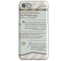 Believing iPhone Case/Skin