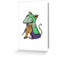 """""""Sir. Bartlegad of the 7th wing""""  Greeting Card"""