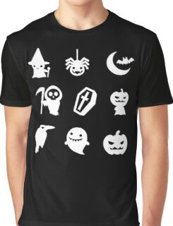 Funny Halloween -  With 9 Item for Halloween Shirt Graphic T-Shirt