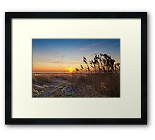 Sunrise at Pegwell Bay Framed Print