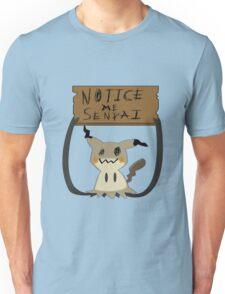 Mimikyu - Notice me senpai Unisex T-Shirt