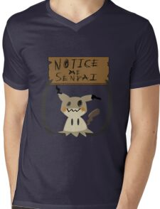 Mimikyu - Notice me senpai Mens V-Neck T-Shirt