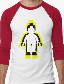 MINIFIG MAN  Men's Baseball ¾ T-Shirt
