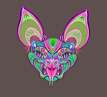 Psychedelic Bat Unisex T-Shirt