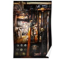 Steampunk - Plumbing - Pipes Poster