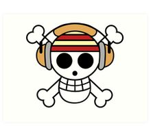 The One Piece Podcast - Classic Logo Art Print