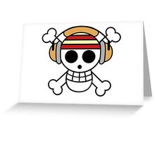 The One Piece Podcast - Classic Logo Greeting Card