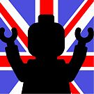 Minifig Union Jack by Customize My Minifig