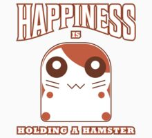 happiness is holding a hamster Kids Tee