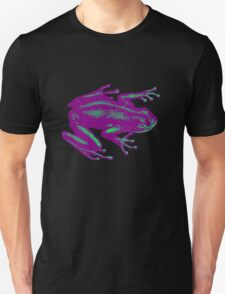 PurpleTeal Frog Unisex T-Shirt