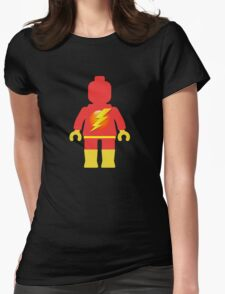 Lightning Minifig Womens Fitted T-Shirt