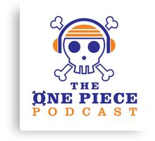 The One Piece Podcast - Main Logo Canvas Print