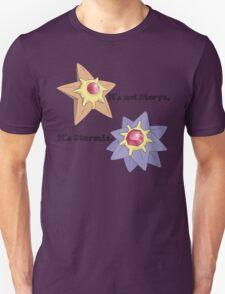 It's Not Staryu Unisex T-Shirt