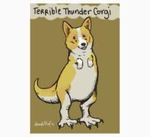 Terrible Thunder Corgi Kids Tee