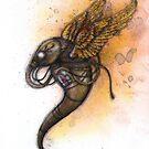Metal Wings by Kaitlin Beckett