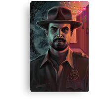 Chief Hopper Canvas Print