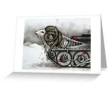 Ram Tank Greeting Card