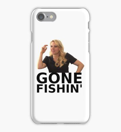 GONE FISHIN' - Kate McKinnon (ver. 1) iPhone Case/Skin