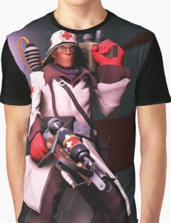 Team Fortress 2 Medic Poster Graphic T-Shirt