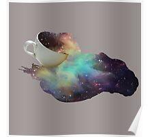 Galaxy Spill Poster