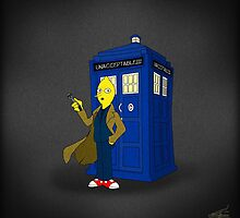 Doctor Lemongrab (Adventure Time + Doctor Who) by Musenyo