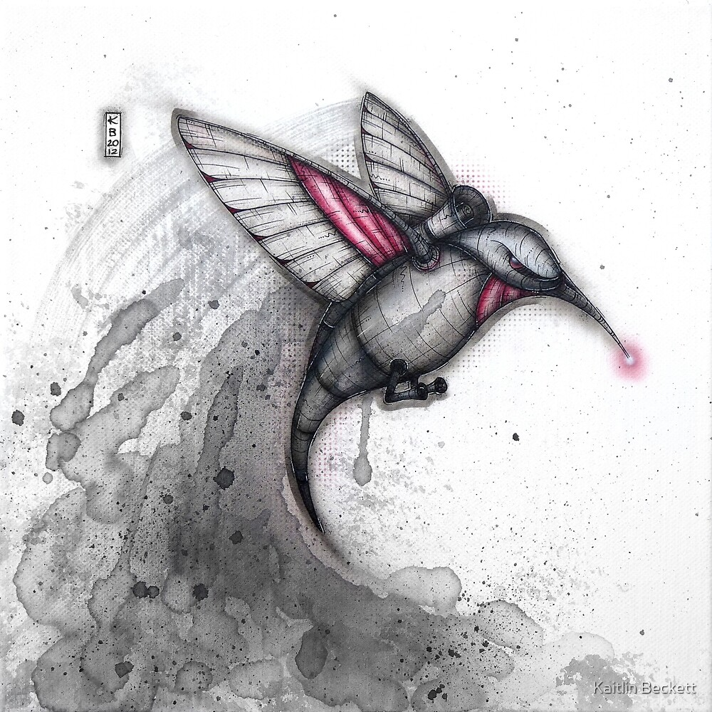 Alarm Hummingbird by Kaitlin Beckett