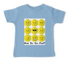 'How Do You Feel?' by Customize My Minifig  Baby Tee