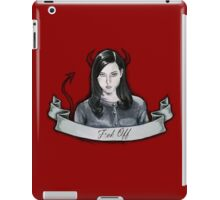 Aubrey Plaza iPad Case/Skin