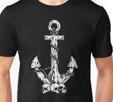 Anchor and Skulls Unisex T-Shirt