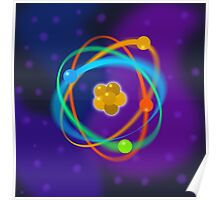 Atomic Structure spots Poster