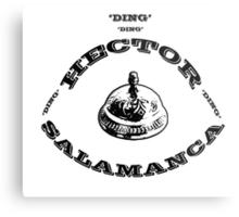 Hector Salamanca Ding Ding Bell Metal Print