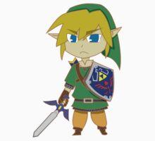Skyward Sword Link by whatdajay