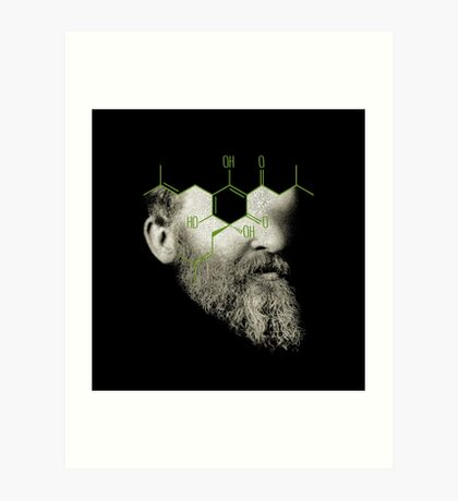 when i grow up i want to be the barfly in the ointment of entropy Art Print