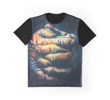 Hands Abstraction Graphic T-Shirt