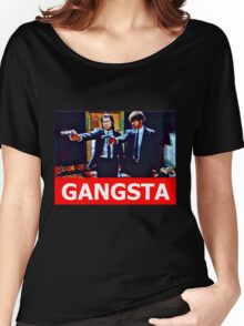 Pulp Fiction Jules and Vincent Women's Relaxed Fit T-Shirt