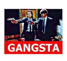 Pulp Fiction Jules and Vincent Photographic Print