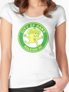 Raleigh Acorn Guy Women's Fitted Scoop T-Shirt