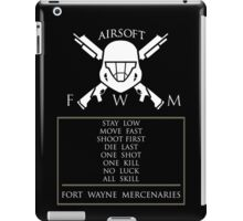 FORT WAYNE MERCENARIES iPad Case/Skin