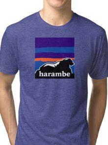 Harambe - Remember T-Shirt Tri-blend T-Shirt