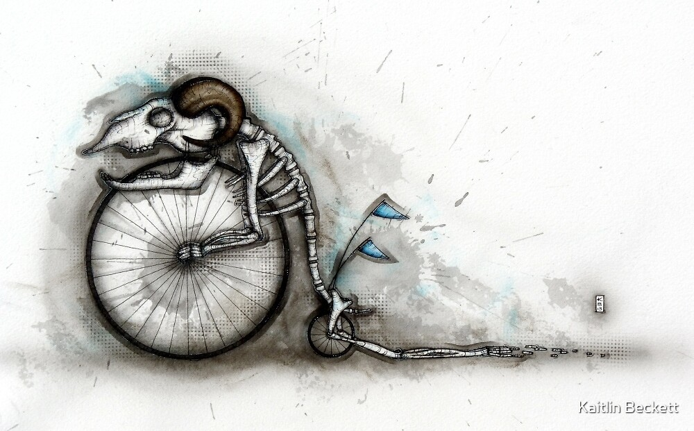 Penny Farthing by Kaitlin Beckett